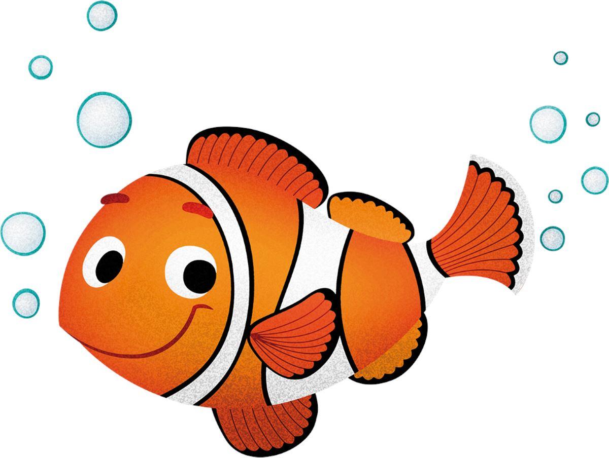 Adesivi murali pesce pagliaccio leostickers for Immagini pagliaccio per bambini